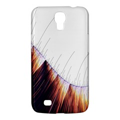 Abstract Lines Samsung Galaxy Mega 6 3  I9200 Hardshell Case