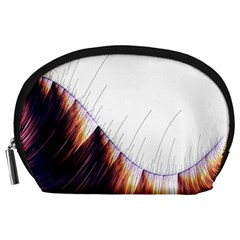 Abstract Lines Accessory Pouches (large)  by Simbadda