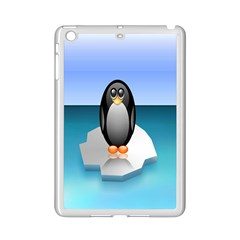Penguin Ice Floe Minimalism Antarctic Sea Ipad Mini 2 Enamel Coated Cases