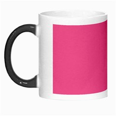 Pink Yellow Scallop Wallpaper Wave Morph Mugs by Alisyart