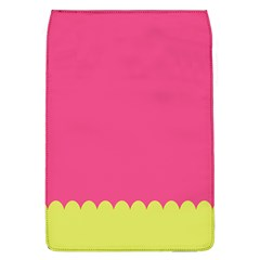 Pink Yellow Scallop Wallpaper Wave Flap Covers (l)  by Alisyart