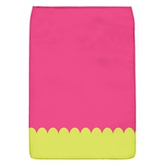 Pink Yellow Scallop Wallpaper Wave Flap Covers (s)  by Alisyart
