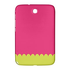 Pink Yellow Scallop Wallpaper Wave Samsung Galaxy Note 8 0 N5100 Hardshell Case  by Alisyart