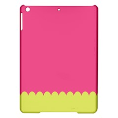 Pink Yellow Scallop Wallpaper Wave Ipad Air Hardshell Cases by Alisyart