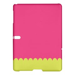 Pink Yellow Scallop Wallpaper Wave Samsung Galaxy Tab S (10 5 ) Hardshell Case