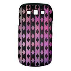 Old Version Plaid Triangle Chevron Wave Line Cplor  Purple Black Pink Samsung Galaxy S Iii Classic Hardshell Case (pc+silicone)