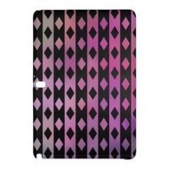 Old Version Plaid Triangle Chevron Wave Line Cplor  Purple Black Pink Samsung Galaxy Tab Pro 10 1 Hardshell Case by Alisyart