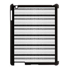 Lines Apple Ipad 3/4 Case (black)