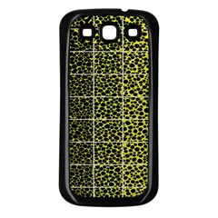 Pixel Gradient Pattern Samsung Galaxy S3 Back Case (black)