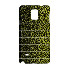 Pixel Gradient Pattern Samsung Galaxy Note 4 Hardshell Case by Simbadda