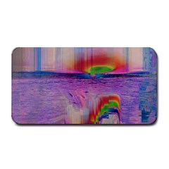 Glitch Art Abstract Medium Bar Mats by Simbadda