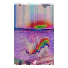 Glitch Art Abstract Shower Curtain 48  X 72  (small)  by Simbadda