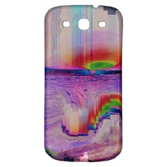 Glitch Art Abstract Samsung Galaxy S3 S Iii Classic Hardshell Back Case