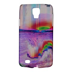 Glitch Art Abstract Galaxy S4 Active by Simbadda