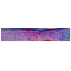 Glitch Art Abstract Flano Scarf (large)