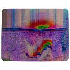 Glitch Art Abstract Jigsaw Puzzle Photo Stand (rectangular) by Simbadda
