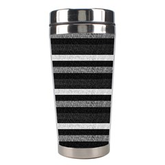Lines Stainless Steel Travel Tumblers by Valentinaart