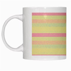 Lines White Mugs by Valentinaart