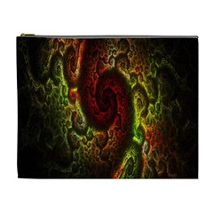 Fractal Digital Art Cosmetic Bag (xl)