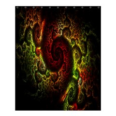 Fractal Digital Art Shower Curtain 60  X 72  (medium)  by Simbadda