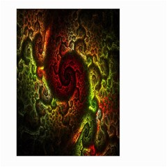 Fractal Digital Art Large Garden Flag (two Sides) by Simbadda
