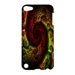 Fractal Digital Art Apple Ipod Touch 5 Hardshell Case by Simbadda
