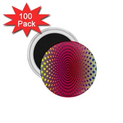 Abstract Circle Colorful 1 75  Magnets (100 Pack)  by Simbadda