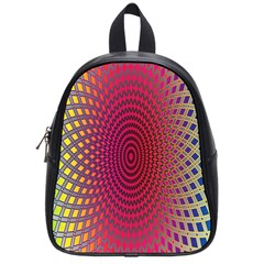 Abstract Circle Colorful School Bags (small)