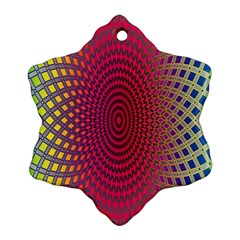 Abstract Circle Colorful Ornament (snowflake)