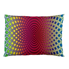 Abstract Circle Colorful Pillow Case (two Sides)