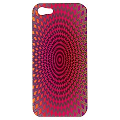 Abstract Circle Colorful Apple Iphone 5 Hardshell Case