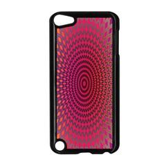 Abstract Circle Colorful Apple Ipod Touch 5 Case (black) by Simbadda
