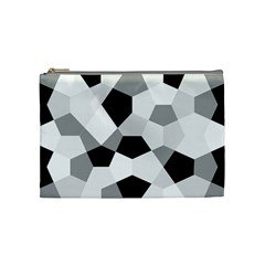 Pentagons Decagram Plain Triangle Cosmetic Bag (medium)