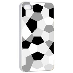 Pentagons Decagram Plain Triangle Apple Iphone 4/4s Seamless Case (white) by Alisyart