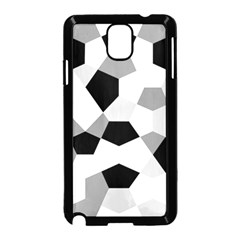 Pentagons Decagram Plain Triangle Samsung Galaxy Note 3 Neo Hardshell Case (black)