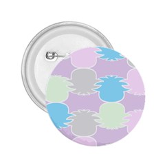 Pineapple Puffle Blue Pink Green Purple 2 25  Buttons