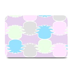 Pineapple Puffle Blue Pink Green Purple Plate Mats by Alisyart