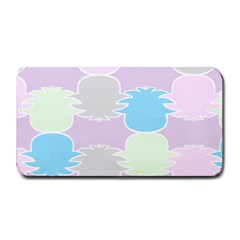 Pineapple Puffle Blue Pink Green Purple Medium Bar Mats