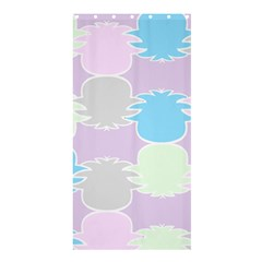 Pineapple Puffle Blue Pink Green Purple Shower Curtain 36  X 72  (stall)  by Alisyart