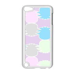 Pineapple Puffle Blue Pink Green Purple Apple Ipod Touch 5 Case (white)