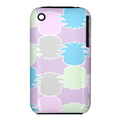 Pineapple Puffle Blue Pink Green Purple Iphone 3s/3gs