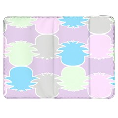 Pineapple Puffle Blue Pink Green Purple Samsung Galaxy Tab 7  P1000 Flip Case