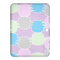 Pineapple Puffle Blue Pink Green Purple Samsung Galaxy Tab 4 (10 1 ) Hardshell Case