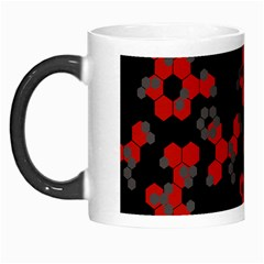 Red Digital Camo Wallpaper Red Camouflage Morph Mugs by Alisyart