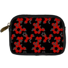Red Digital Camo Wallpaper Red Camouflage Digital Camera Cases