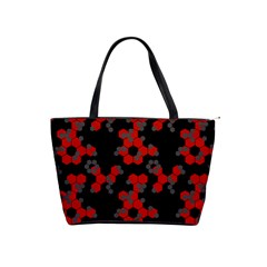 Red Digital Camo Wallpaper Red Camouflage Shoulder Handbags by Alisyart