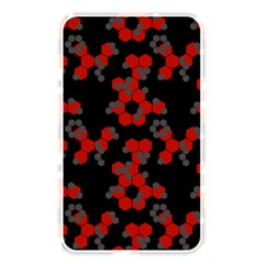 Red Digital Camo Wallpaper Red Camouflage Memory Card Reader