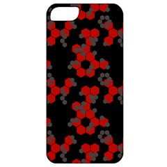 Red Digital Camo Wallpaper Red Camouflage Apple Iphone 5 Classic Hardshell Case