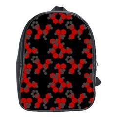 Red Digital Camo Wallpaper Red Camouflage School Bags (xl)  by Alisyart