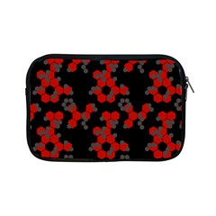 Red Digital Camo Wallpaper Red Camouflage Apple Ipad Mini Zipper Cases by Alisyart